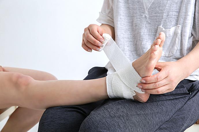 捻挫接骨治療